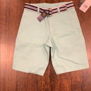 Boys polo shorts